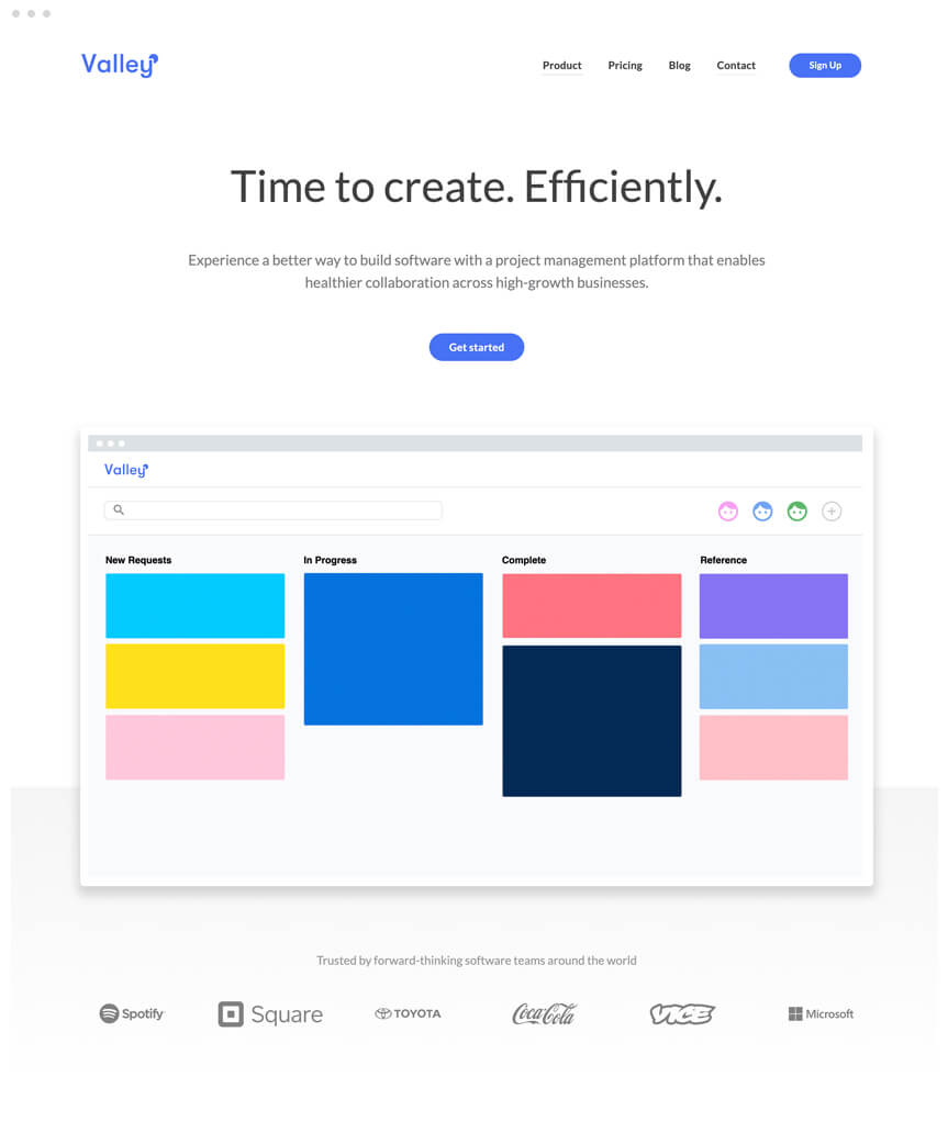 Valley Webflow Website
