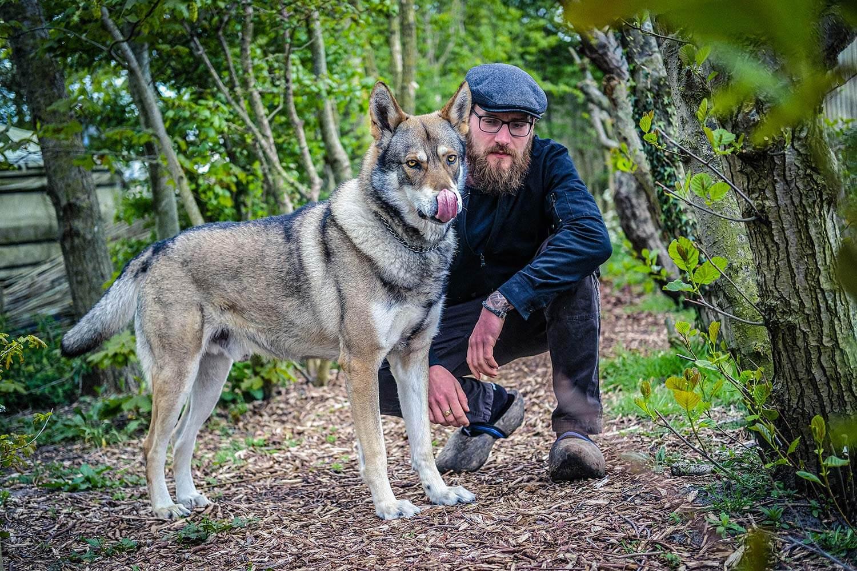 Raven, Rowan's Dog