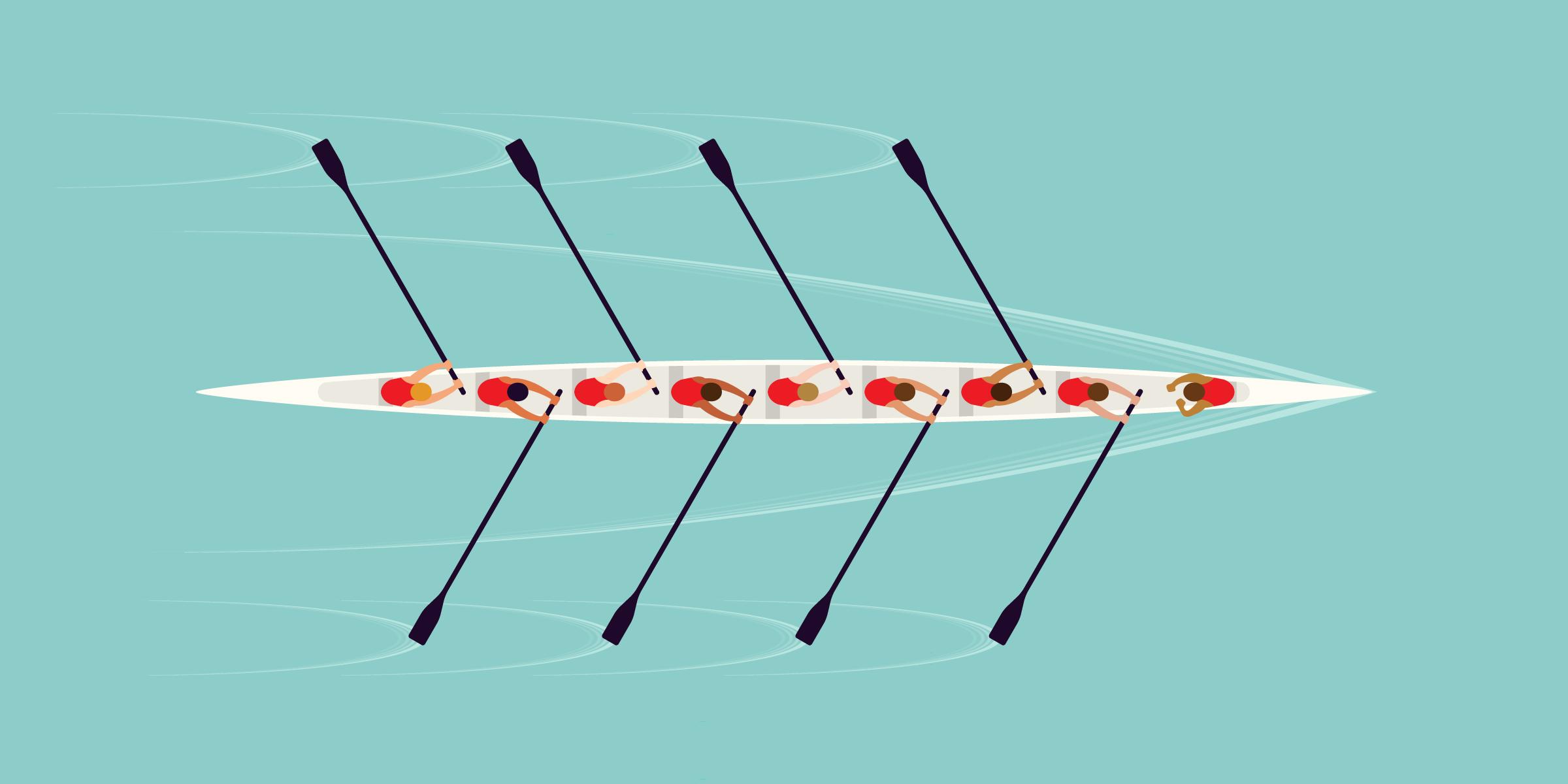 Image of rowing crew