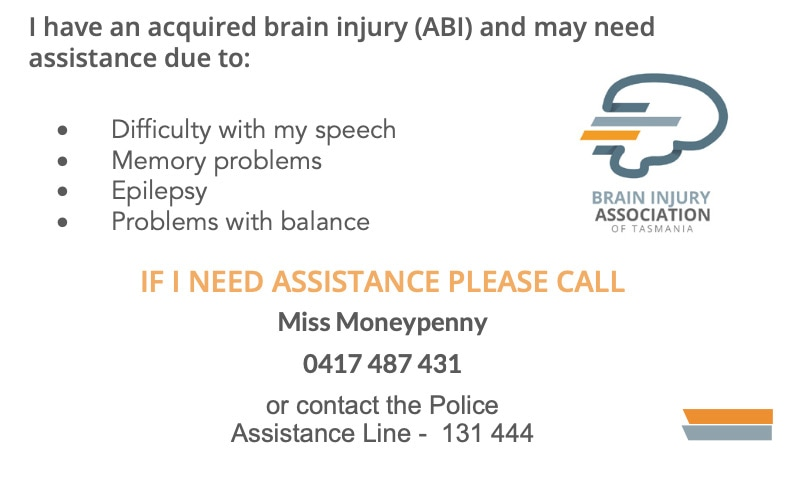 rear of abi card