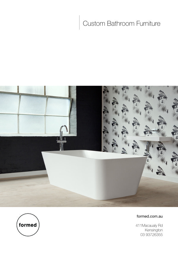B5 Custom Basin | Flyer