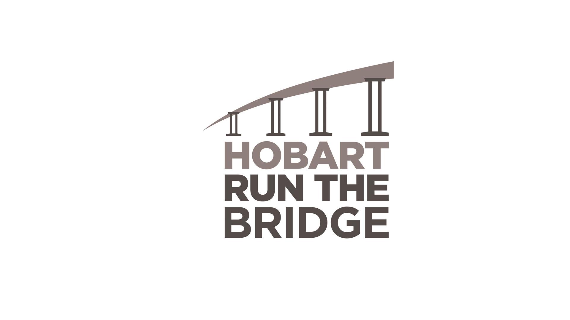 hobart run the bridge logo