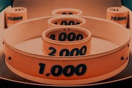 Rings with numbers on them to portray how to calculate Ohmconnect points and understand the forecast