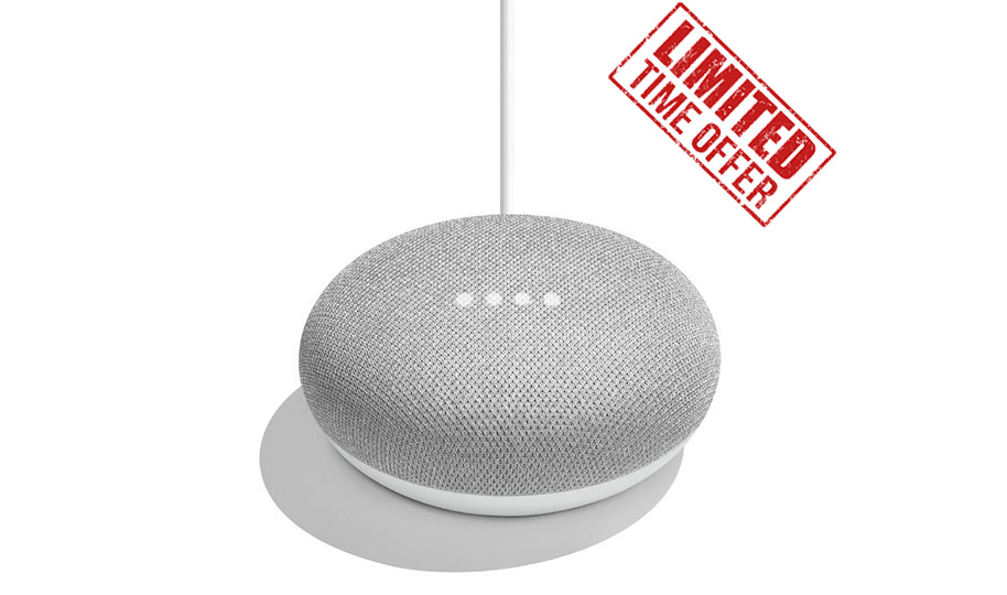 Google Home Mini offer from OhmConnect