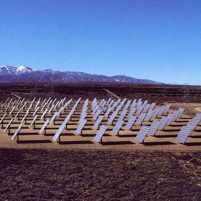 evolving history of energy into solar fields showing the latter