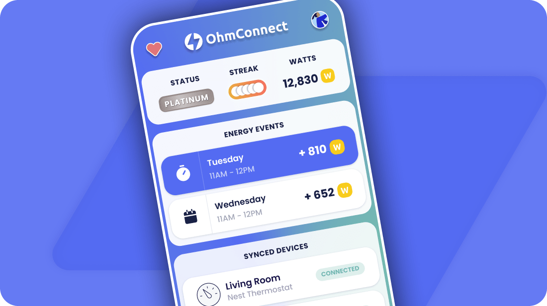 OhmConnect app