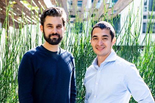 About us and how it got started: Curt Tongue and Matt Duesterberg, the founders of OhmConnect