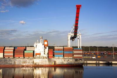 Jacksonville Port Beautiful Reflection (JAXPORT)