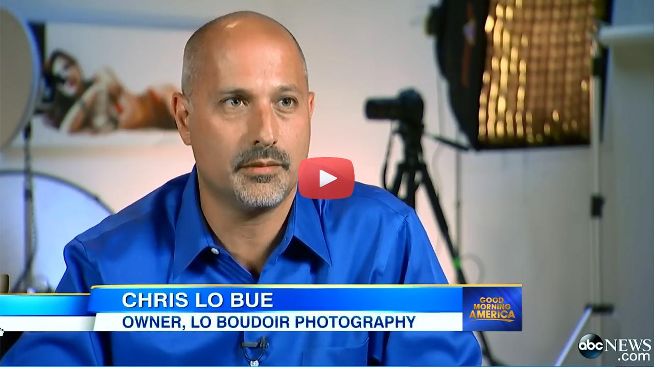 Loboudoir Photography Video - Good Morning America Boudoir Interview Story