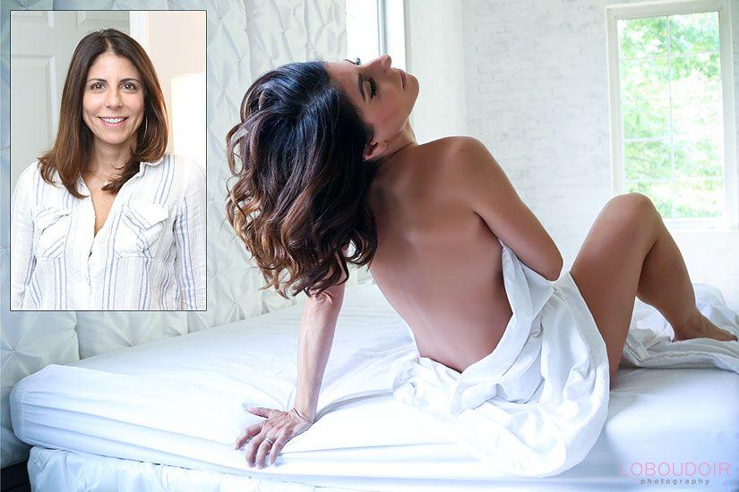 NJ Sensual boudoir poses - Implied nude poses by Lo Boudoir Photography
