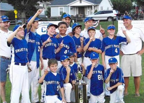 Smarty Pants 2011 Little League team picture