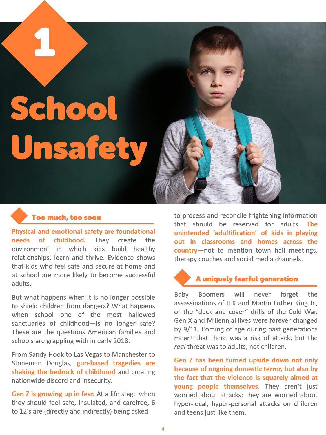 School Unsafety Preview