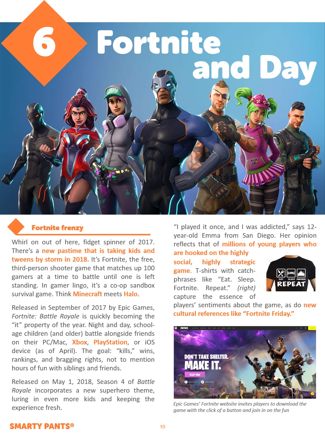 Fortnite and Day Preview