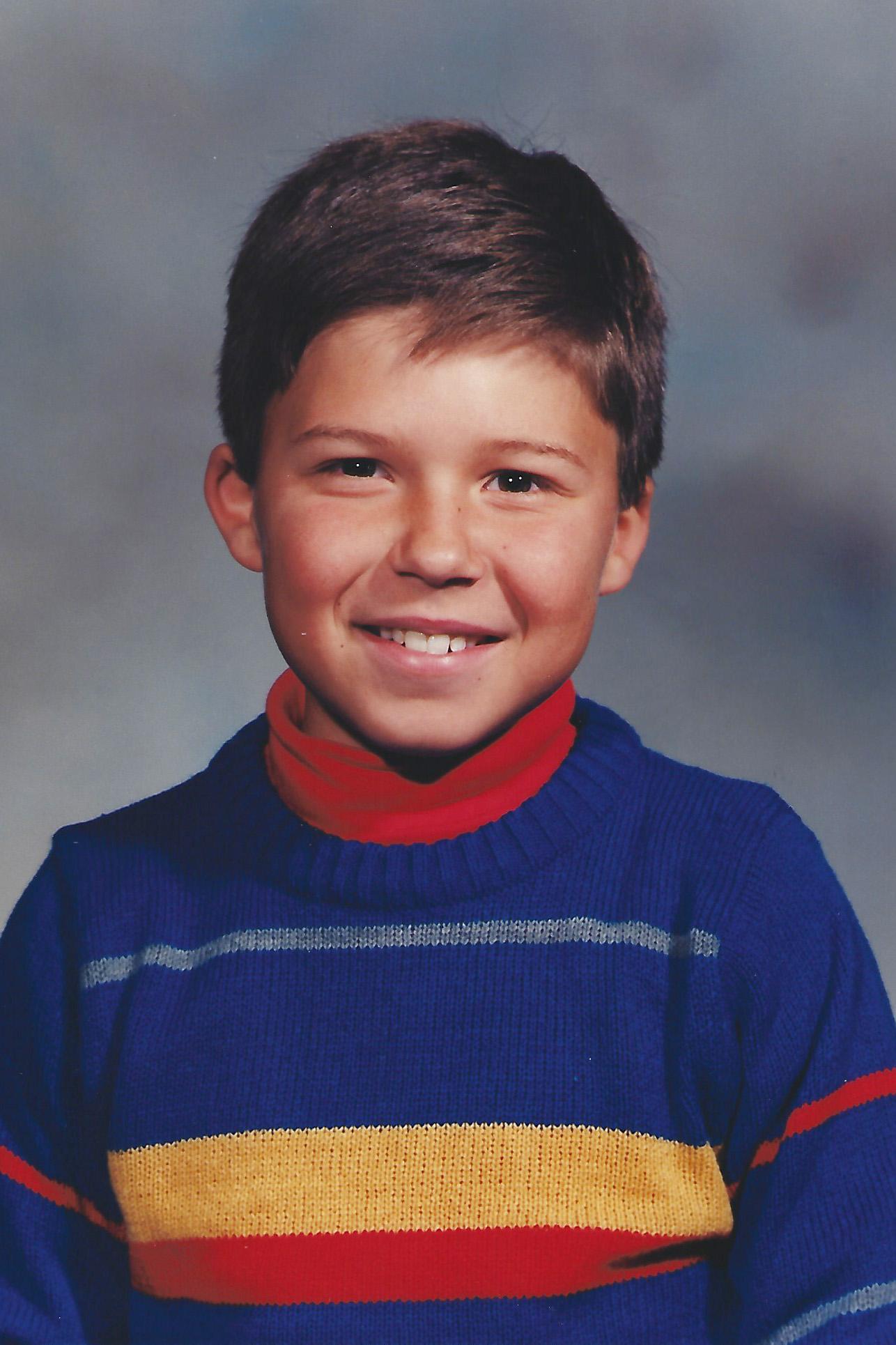 Blake Morin Kid Picture