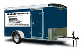 acoustical panels made in toronto canada - transported by our trailer