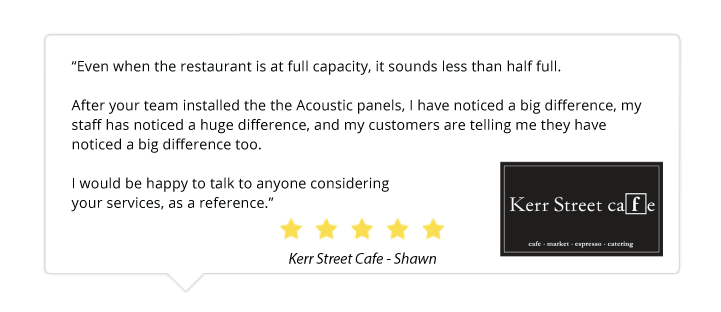 acoustic-panel-kerr-street-cafe-oakville-canada