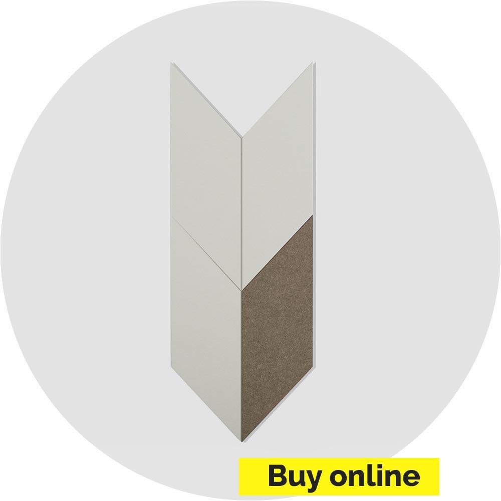 Acoustic Felt Wall Tile - Parallelogram - PET Felt