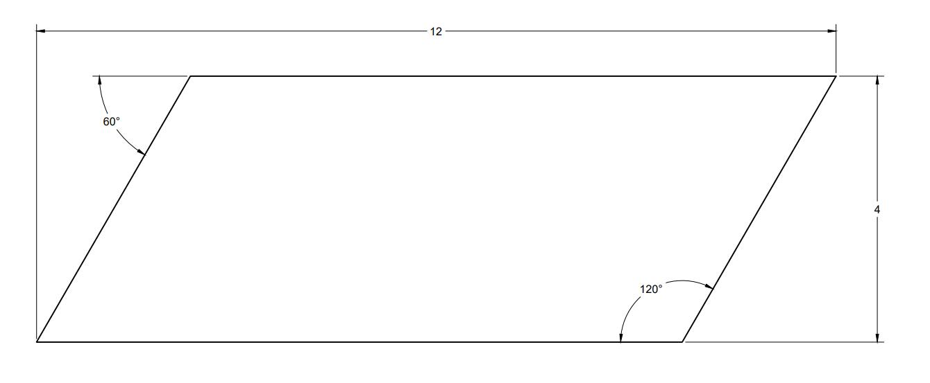 Acoustic Felt  Wall Tiles - Parallelogram - dwg