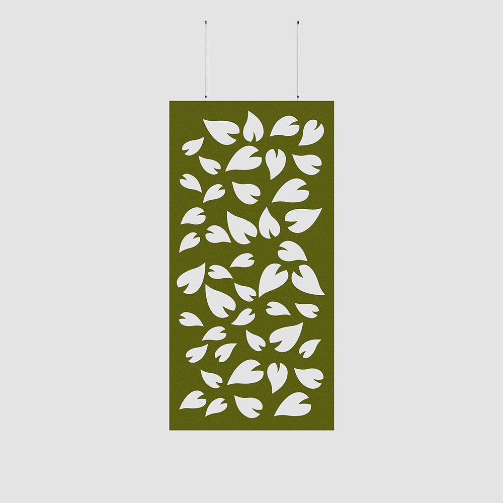 decorative pedals acoustic wall covering
