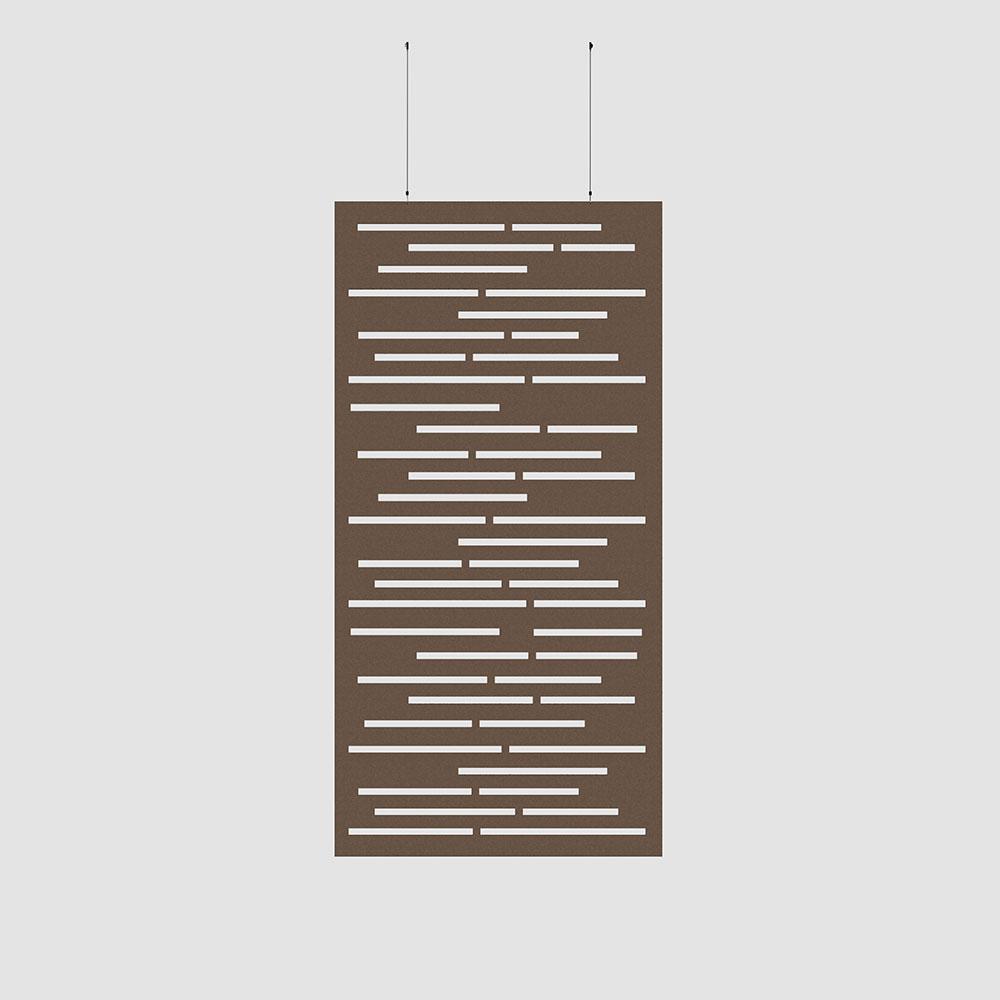 wooden slats acoustic wallcovering