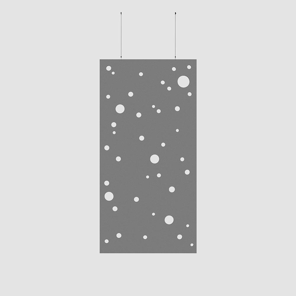 random orbs acoustic wallcovering