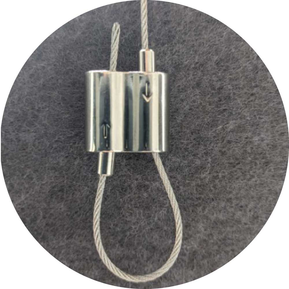 wire cable gripper for aircraft cable