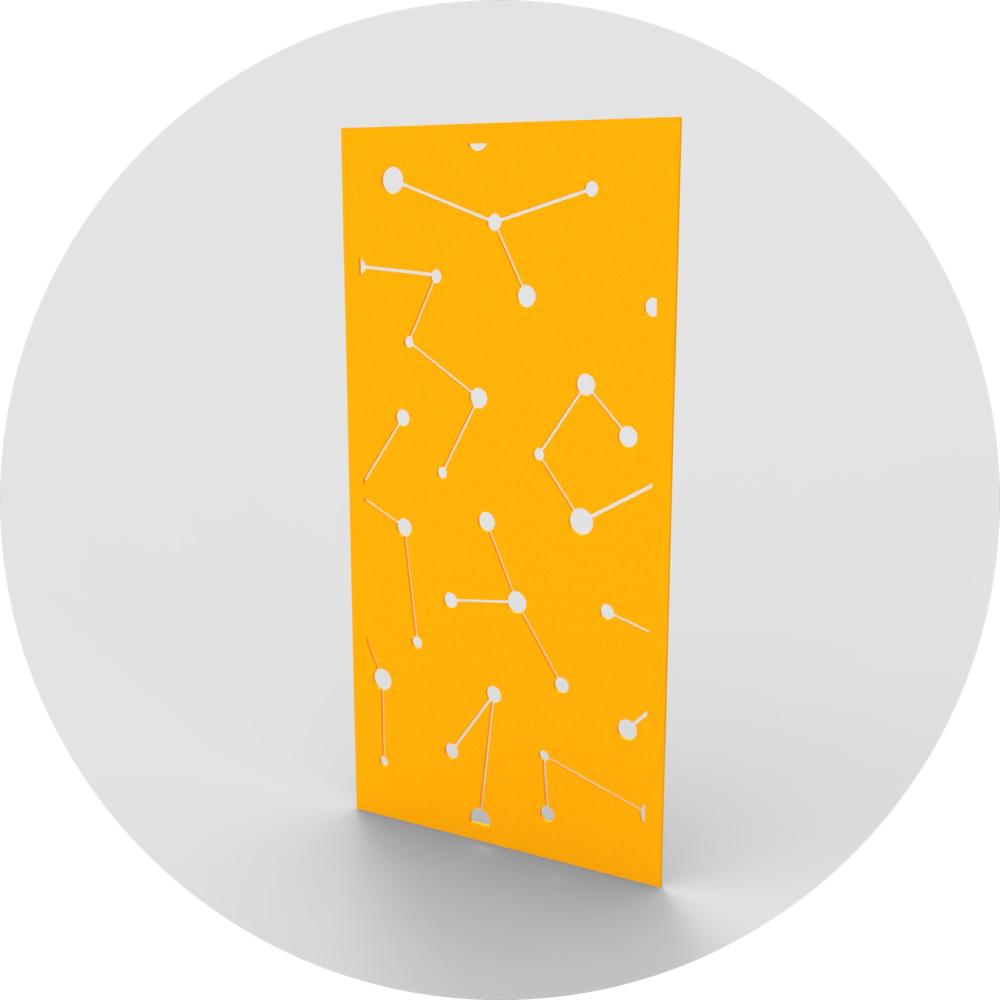 acoustic wall panel light node