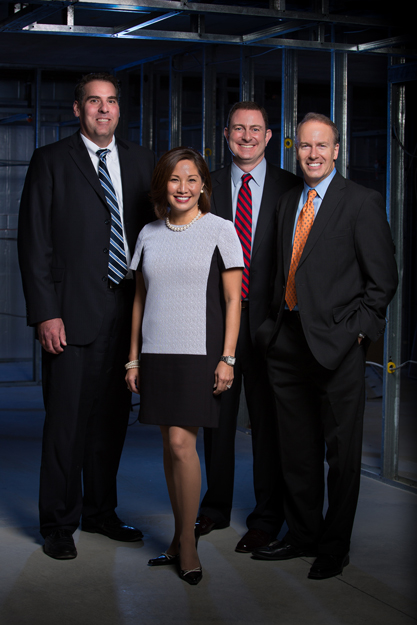 a head to toe shot of Ledger Square Law partners