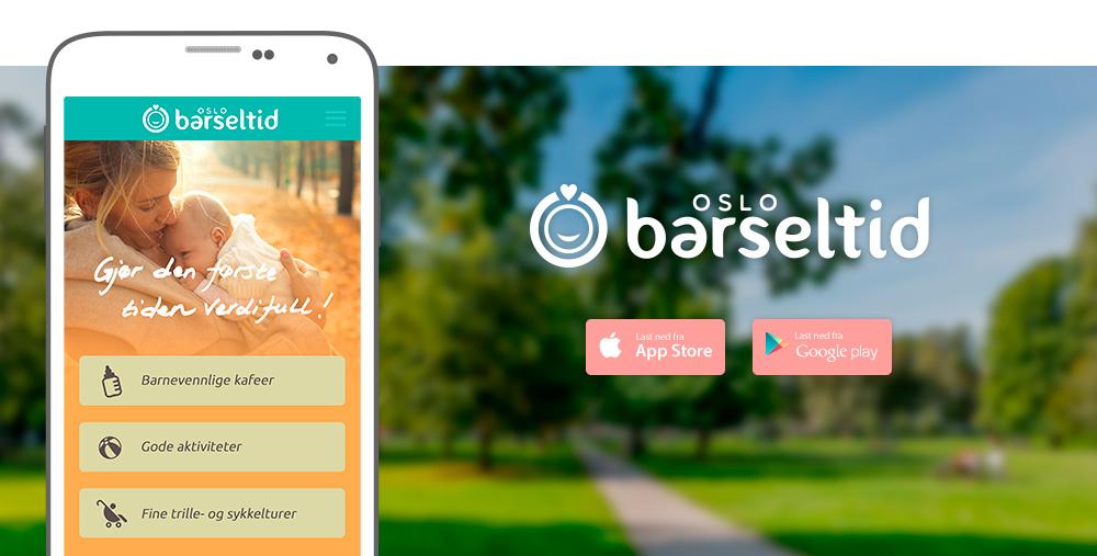 App og nettside for Barseltid Oslo