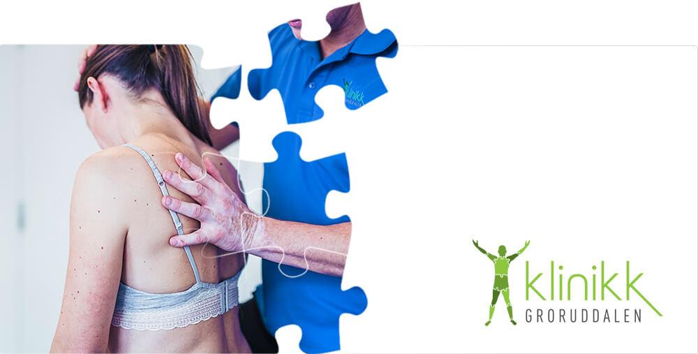 Webdesign nettside for Klinikk Groruddalen