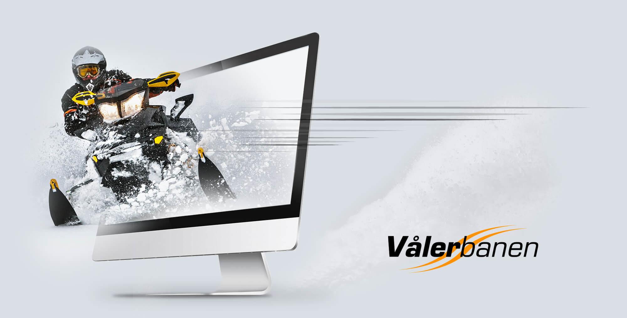 Webdesign og UX for NAF Vålerbanen