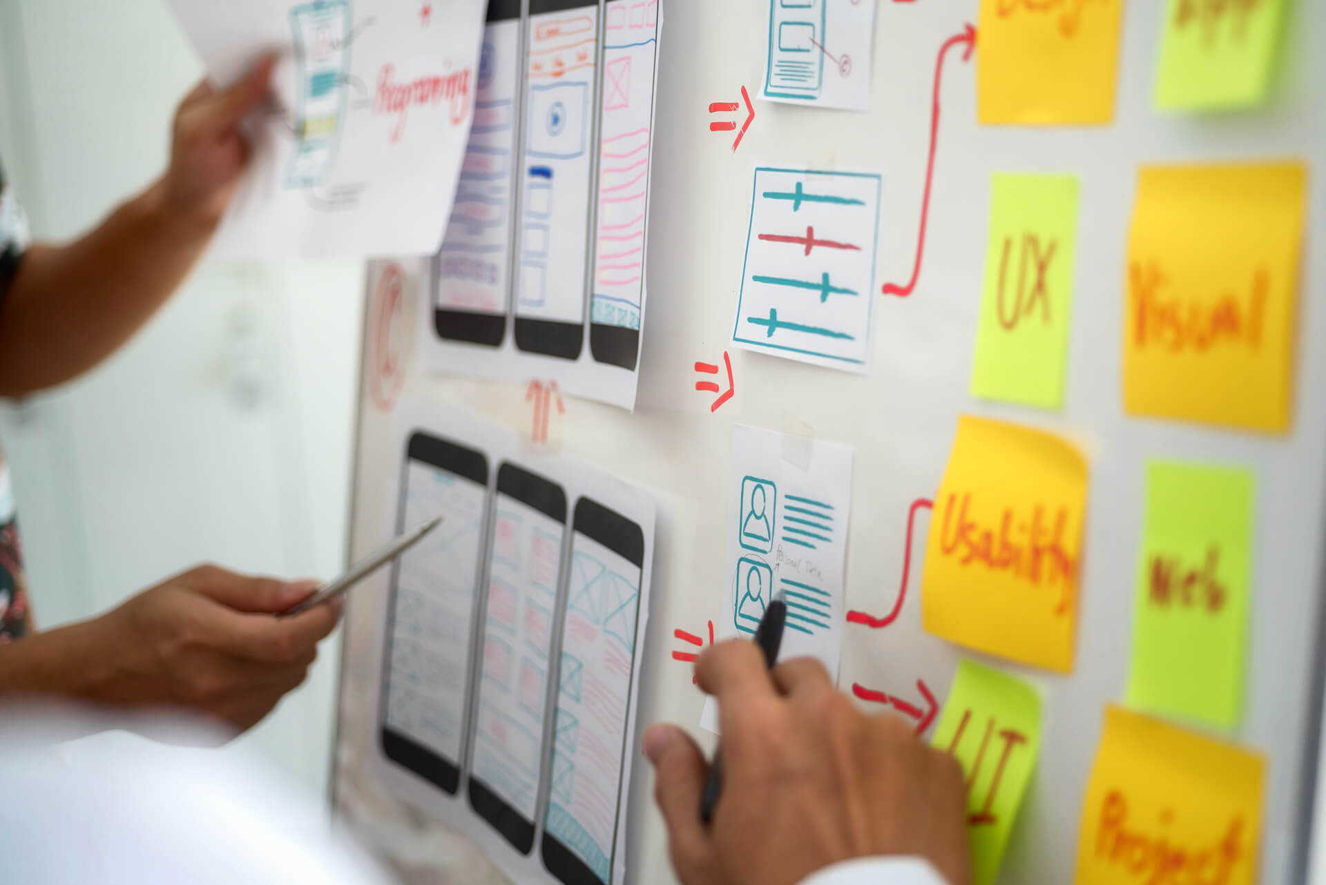 Fra prototype til ferdig app design