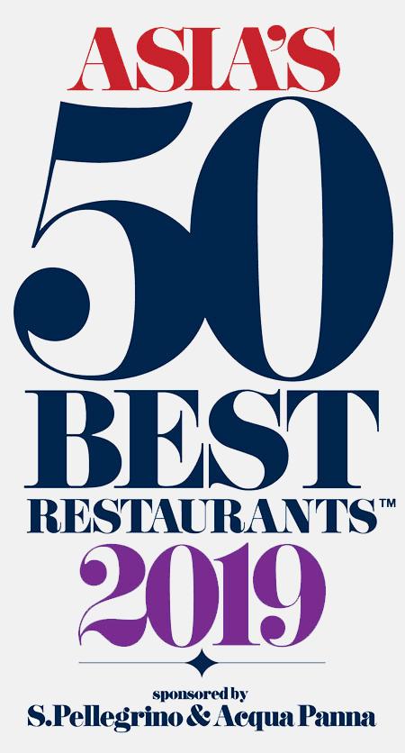 Asia's 50 Best Restaurants 2019
