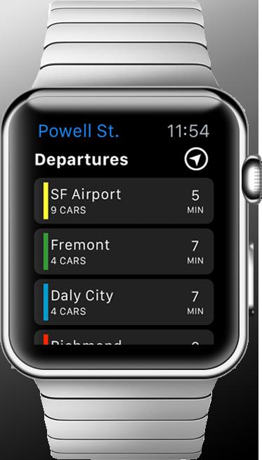 Live BART on iOS 6