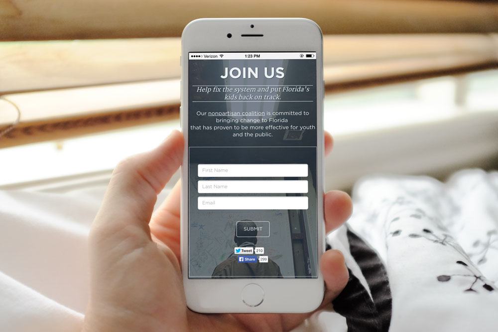 Photo of Southern Poverty Law Centers Mobile Website