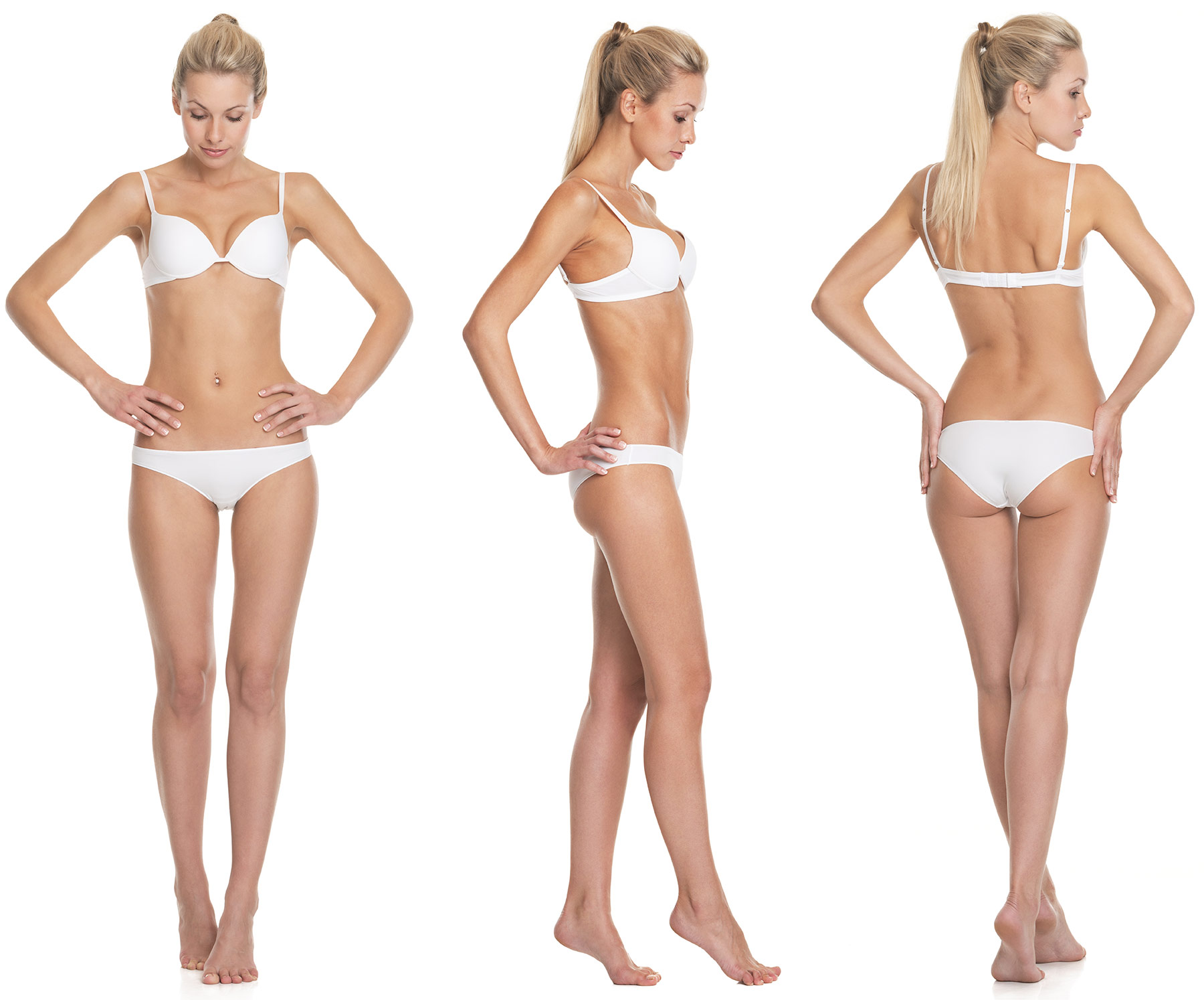 Female thin body
