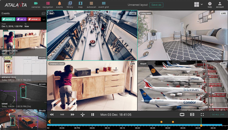 Atalanta Video Surveillance Portal