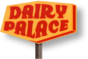 Graphic of the Dairy Palace sign