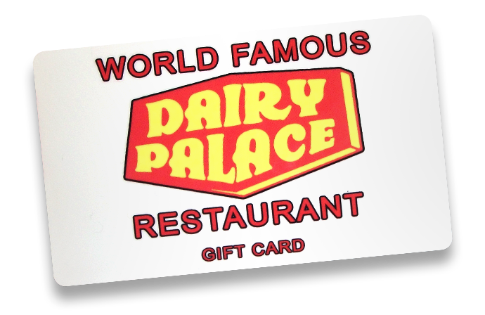 Image of a Dairy Palace gift card