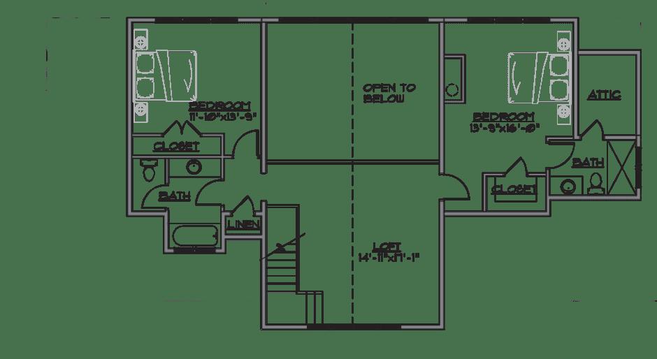 evergreen plan - floor 2
