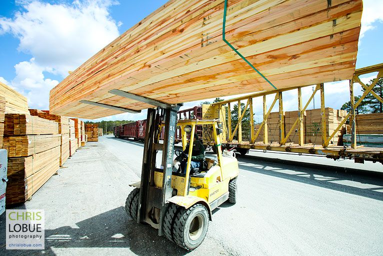NJ lumber yard photo  - Chris Lo Bue Industrial Photography