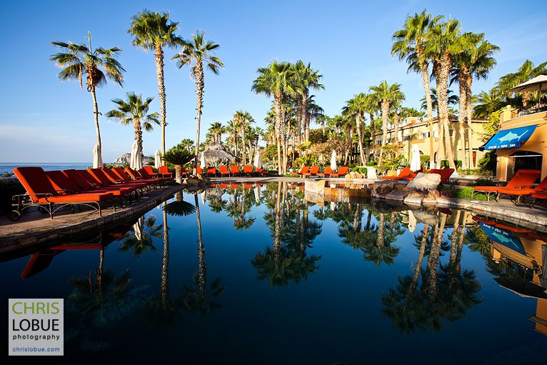 Architectural Photography - Sheraton Hacienda del Mar Golf Resort Pools- Chris Lo Bue Photography