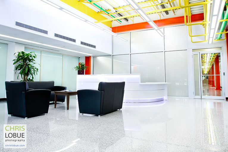 Union County NJ Interior architectural photography - Office buildings - Chris Lo Bue Photography