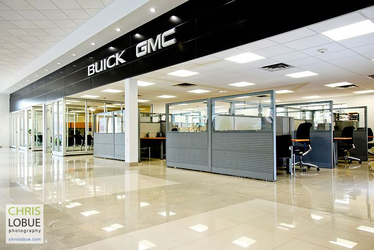 Retail Interior Photography - Buick GMC Dealer New Jersey - Chris Lo Bue Photography