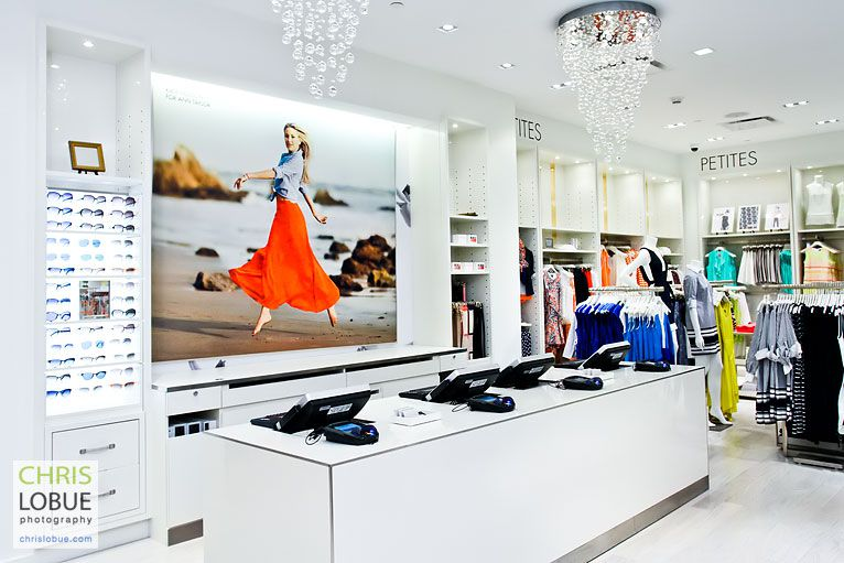 Retail Store Interior Photography - Ann Taylor store Maryland MD - Chris Lo Bue Photography