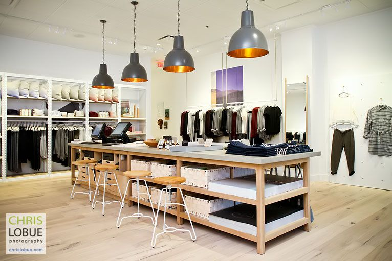Retail Store Interior Photography - Lou & Grey store  - Chris Lo Bue Photography