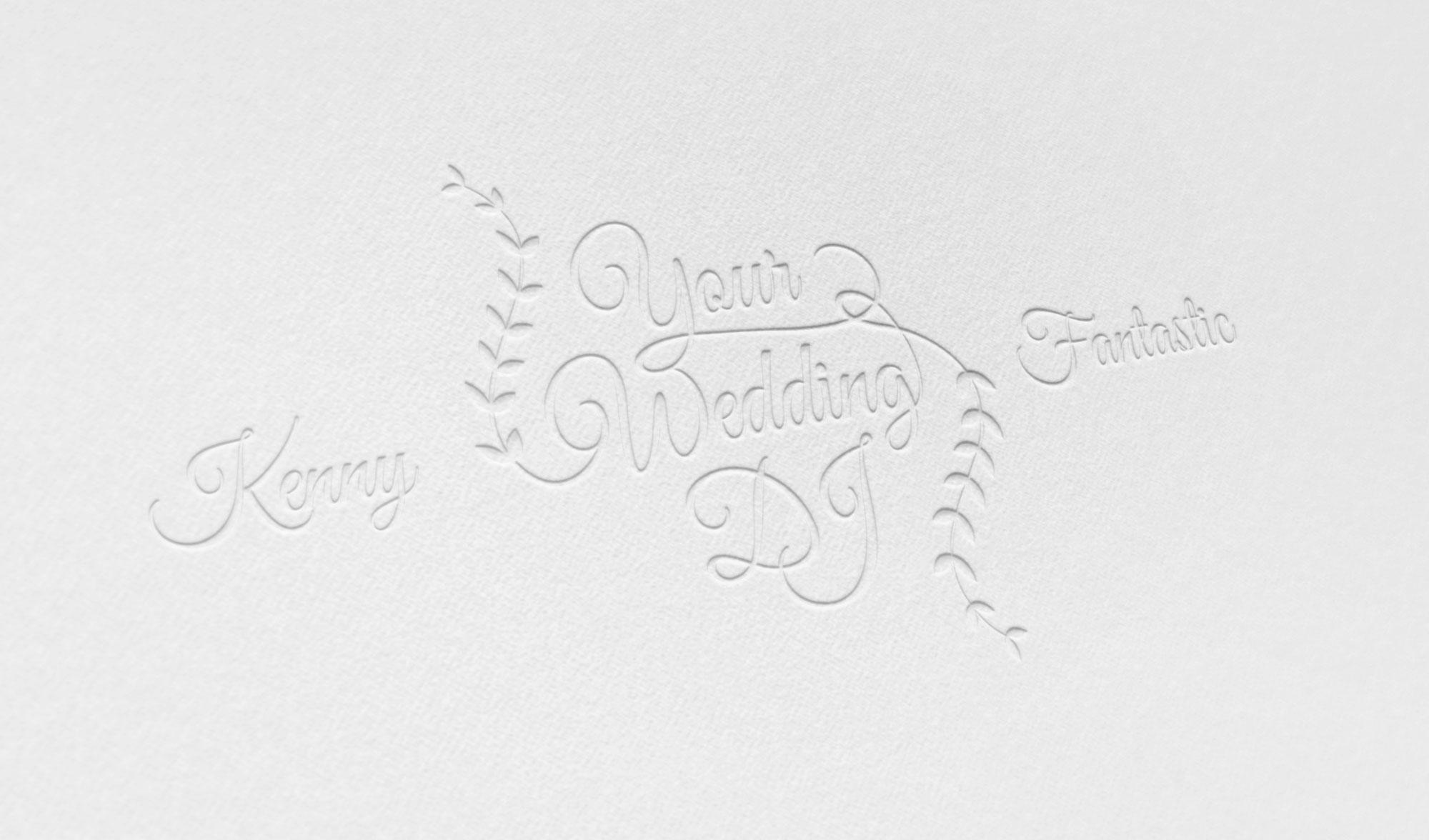 Kenny Fantastic Wedding DJ Logo