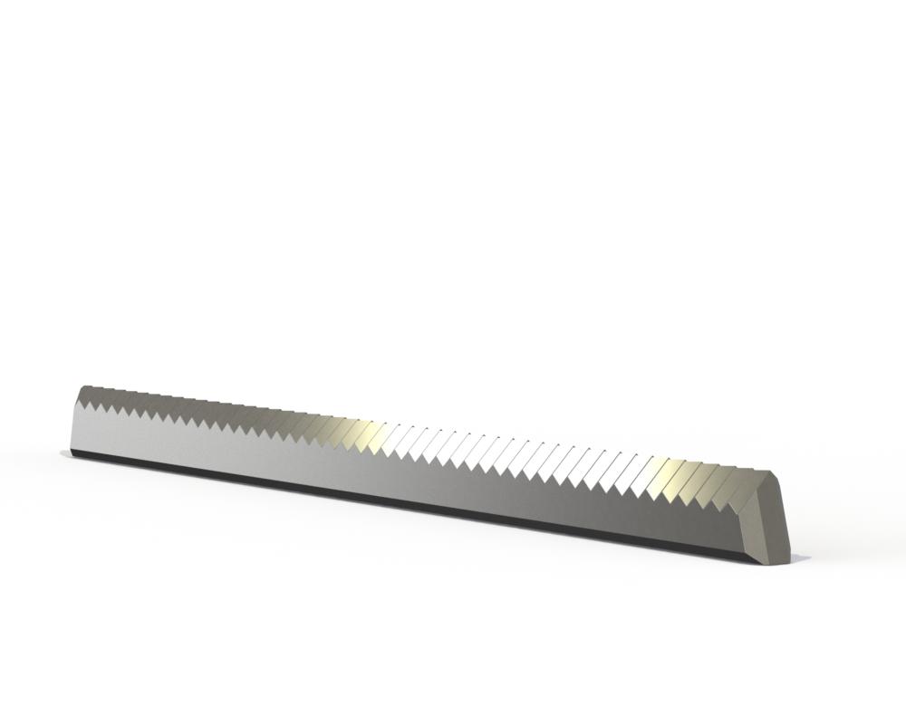 Photo of zigzag knife