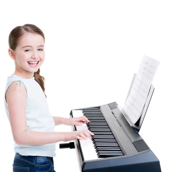 Child on Piano