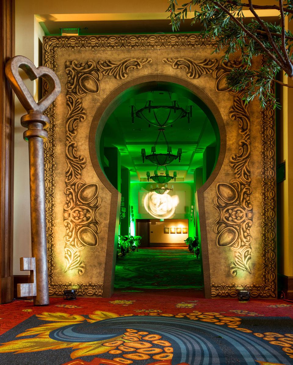 Grand Entrance Keyhole